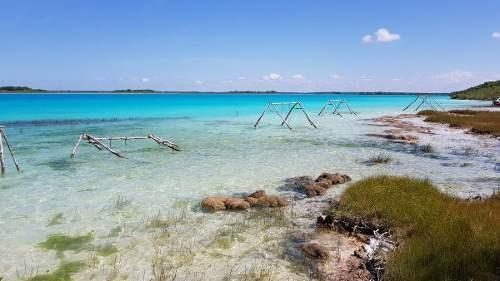venta de hectáreas frente a la laguna de bacalar.
