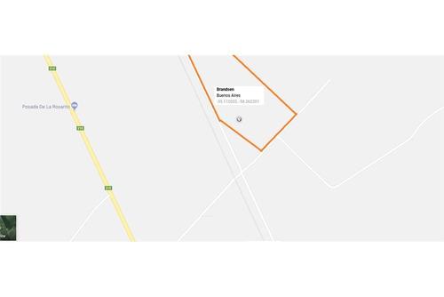 venta de hectareas / terreno en brandsen