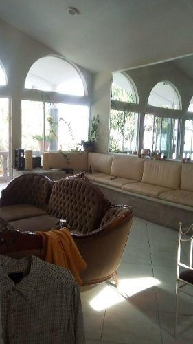 venta de hermosa casa en huertas la joya, 3 recámaras 750m2 de construcción