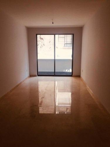 venta de hermoso departamento nuevo de 116.2m2 en colonia del valle sur rg-203