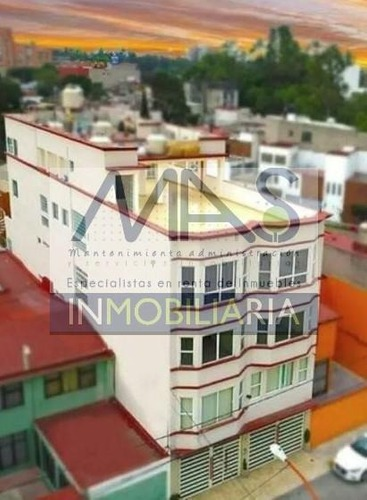 venta de hermoso penthouse  en  edificio estilo victoriano prado vallejo,  tlalnepantla de baz