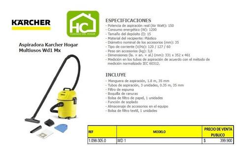 venta de hidrolavadoras/aspiradoras y productos para el aseo