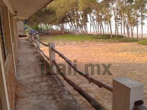 venta de hoteles en la playa tuxpan veracruz. 800 m. después de hotel boutique isla tajin, cuenta con 12 habitaciones completamente amuebladas cada una con baño completo. ubicado en la parte mas ango