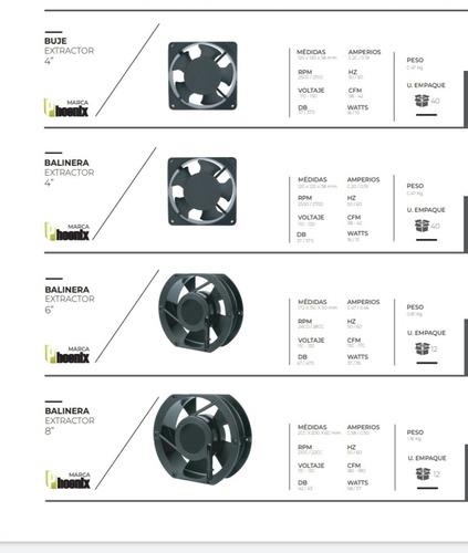 venta de iluminación y extractores