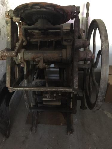 venta de imprenta antigua , solo conocedores