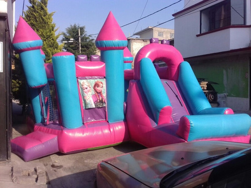 venta de inflable castillo de frozen