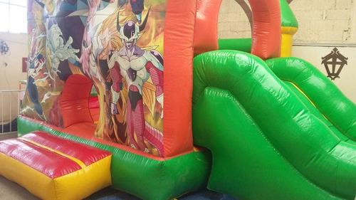 venta de inflable con estampado de dragón ball z