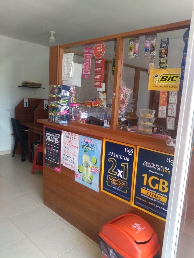 venta de internet y papelería