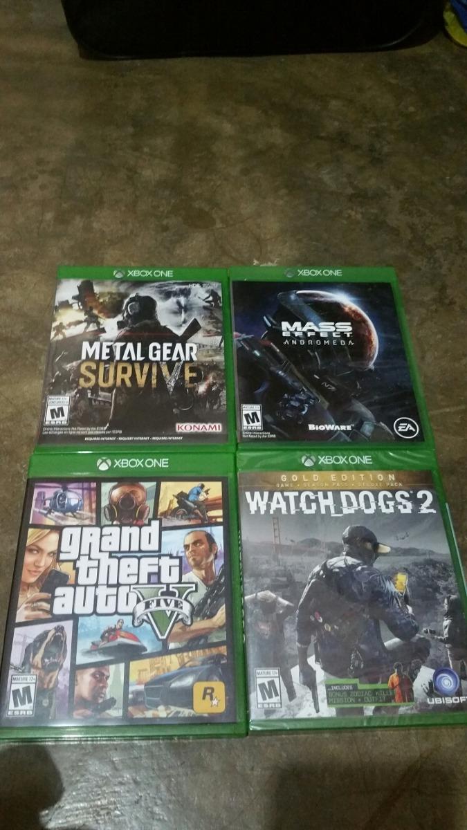 Venta De Juegos Para Xbox One Nuevos U S 45 00 En Mercado Libre