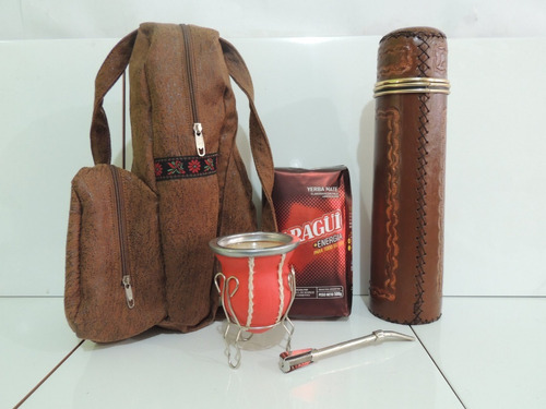 venta de kit matero completo para tomar yerba mate