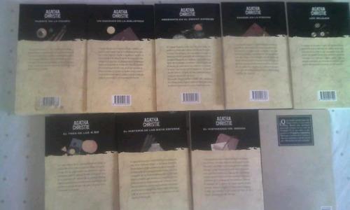 venta de libros de agatha cristie