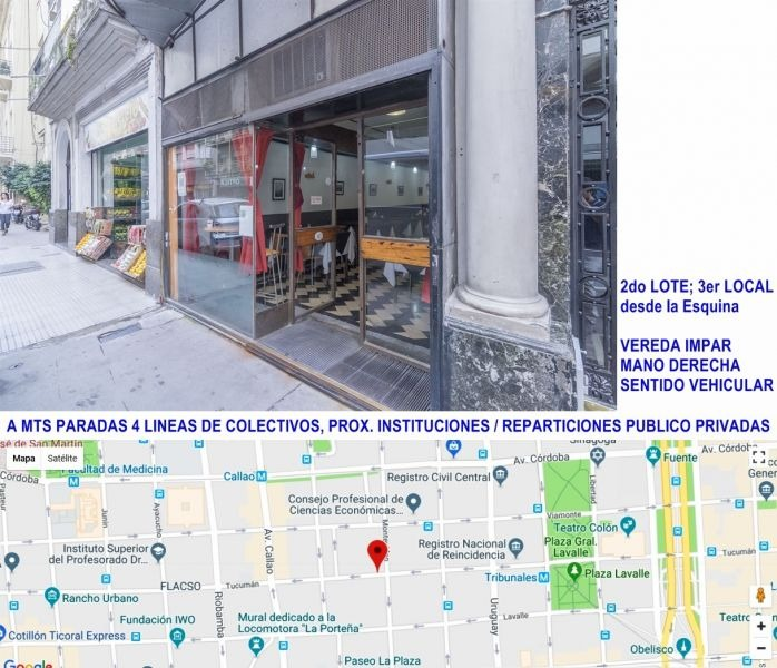 venta de local en centro / microcentro, capital federal
