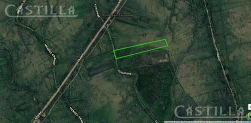 venta de lote de 29 hectáreas en arroyo tuyupare.