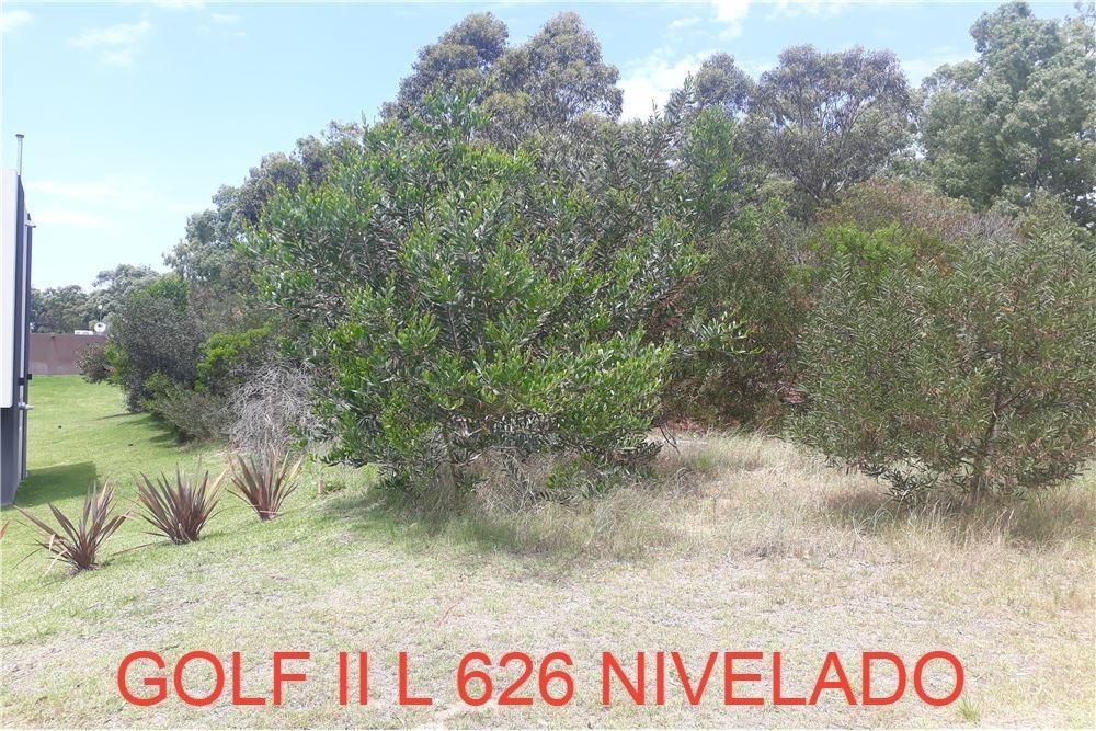 venta de lote en costa esmeralda - barrio golf ii