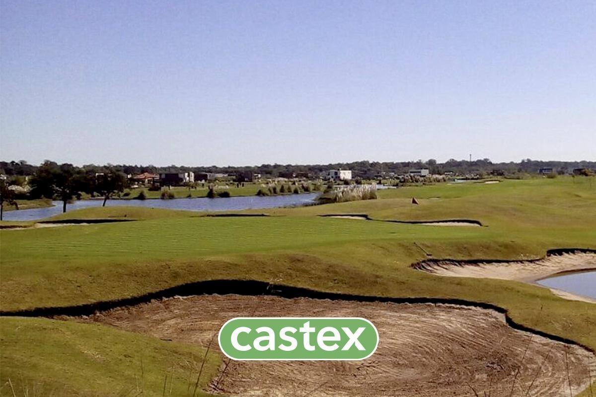 venta de lote en el golf del canton,escobar con vista al cancha