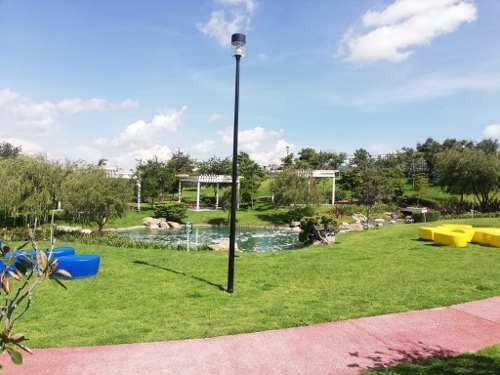venta de lote en parque madrid lomas de angelopolis, puebla