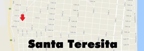 venta de lote en santa teresita (cod. 217)