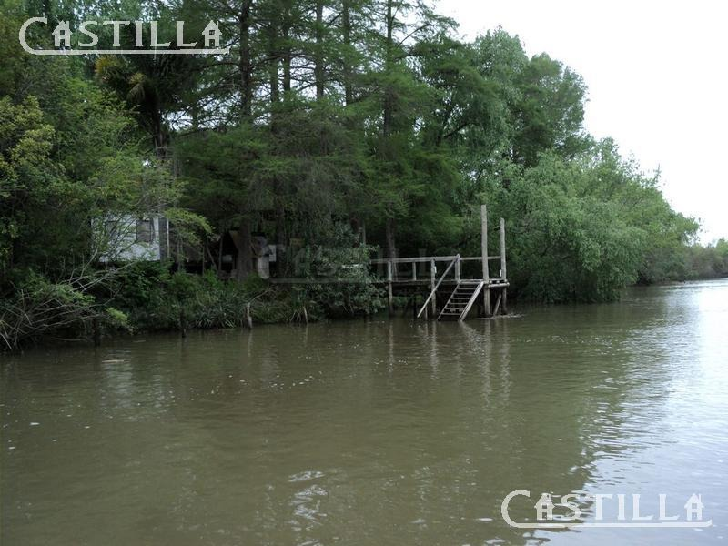 venta de lote sobre arroyo 9 de julio delta de tigre