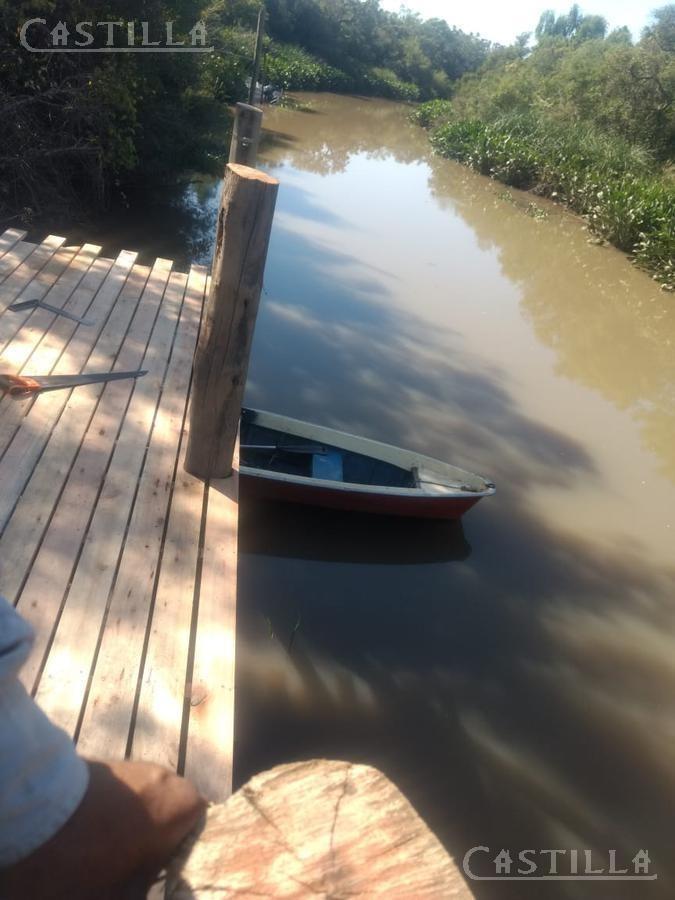 venta de lote sobre arroyo 9 de julio - zona delta tigre