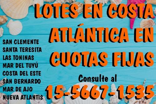 venta de lotes en costa atlántica en cuotas
