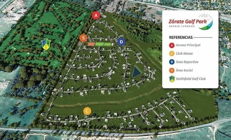 venta de lotes en zarate golf park