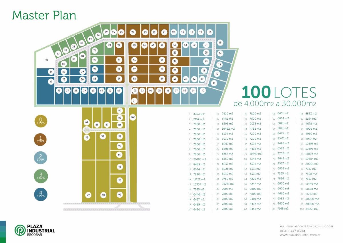 venta de lotes ruta 9 km 57 escobar - 8.000 m²