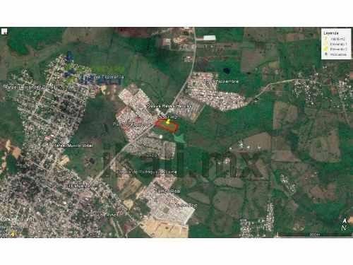 venta de lotes tuxpan veracruz, 15387 m² en av. américas. gran terreno de 15,387 m², en av. las américas, 63 m. frente al bulevar pavimentado con camellón, en carretera tuxpan-tamiahua en frente del
