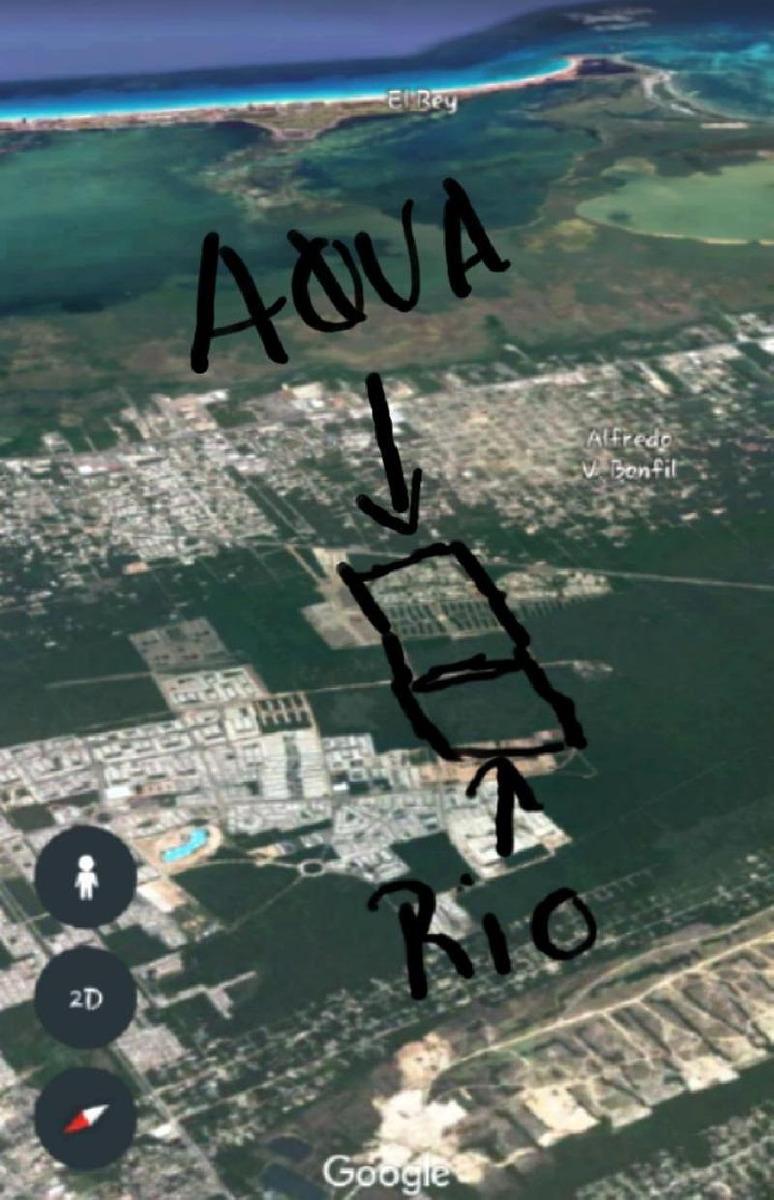 venta de lotes unifamiliar, desarrollo rio, cancún, quintana roo