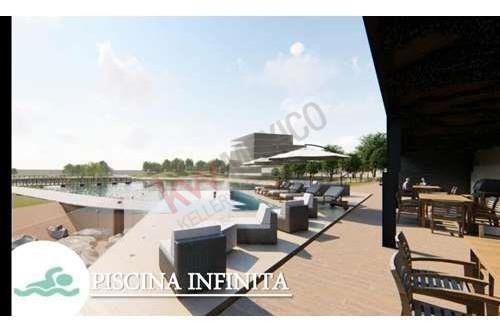 venta de lujoso gardenhouse, modelo areni, torre aurore, alto lago