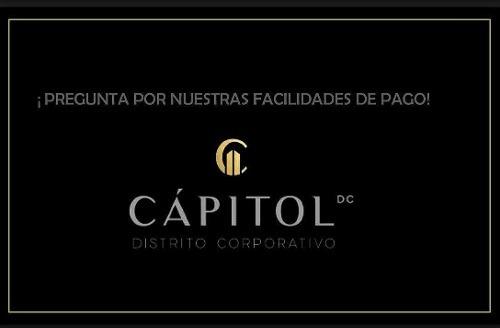 venta de macro lotes en cápitol distrito corporativo a $2,750.00 pesos