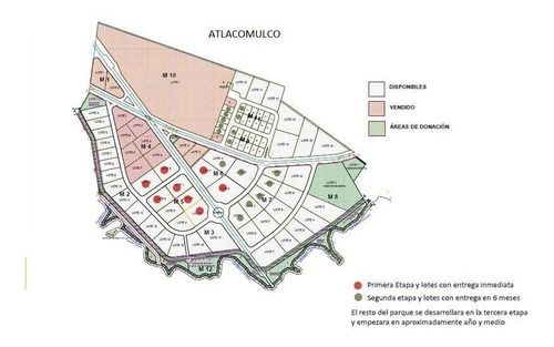 venta de macrolote en parque industrial de atlacomulco