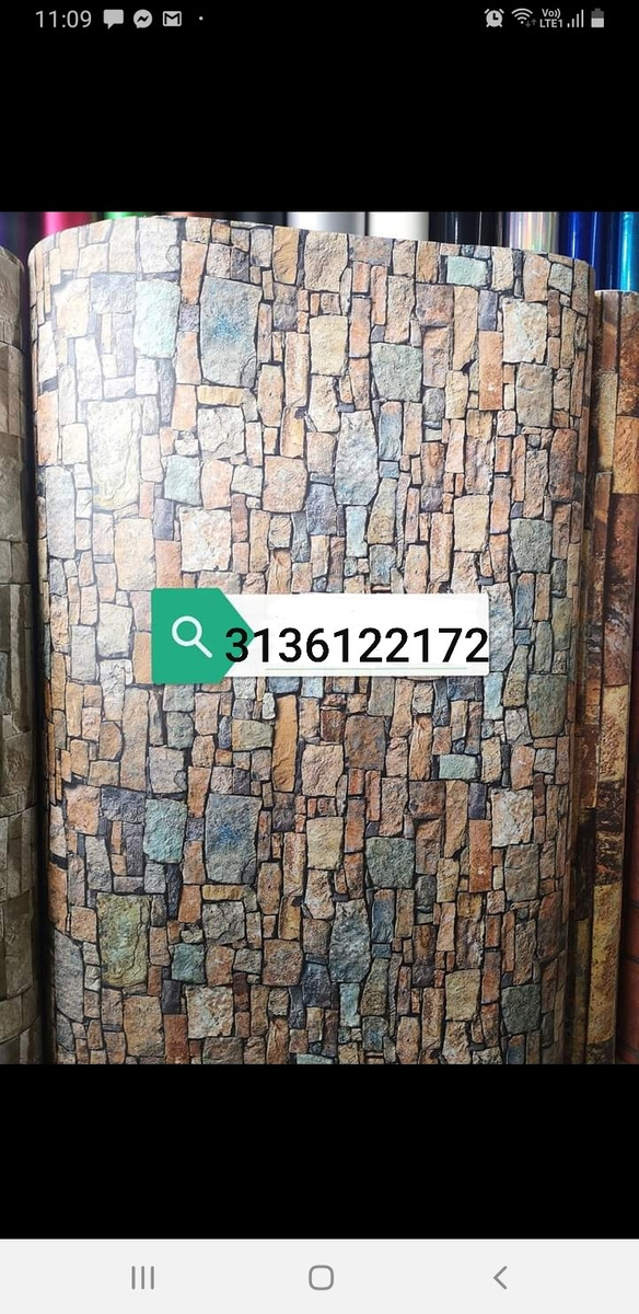 venta de material. instalacion decorativo para paredes
