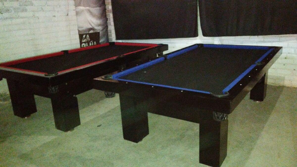 Venta de mesas de billar nuevas con accesorios 8 500 for Accesorios de mesa de billar