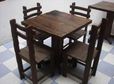 Venta de mesas y sillas para restaurante s 60 00 en for Mesas para restaurante usadas