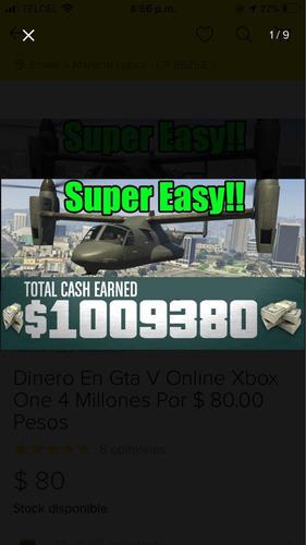 venta de millones (solo xbox)