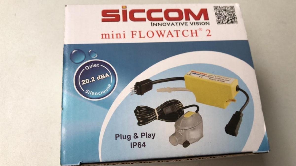 SICCOM Bomba de condensado para Aire Acondicionado Mini Flowatch 1