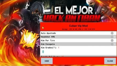 venta de mods menu de free fire