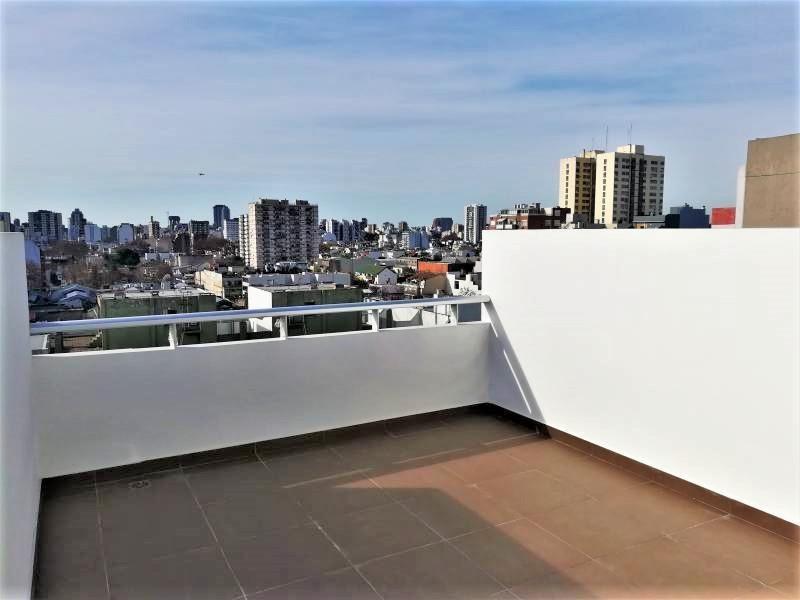 venta de monoambiente en saavedra con terraza balcón muy luminoso