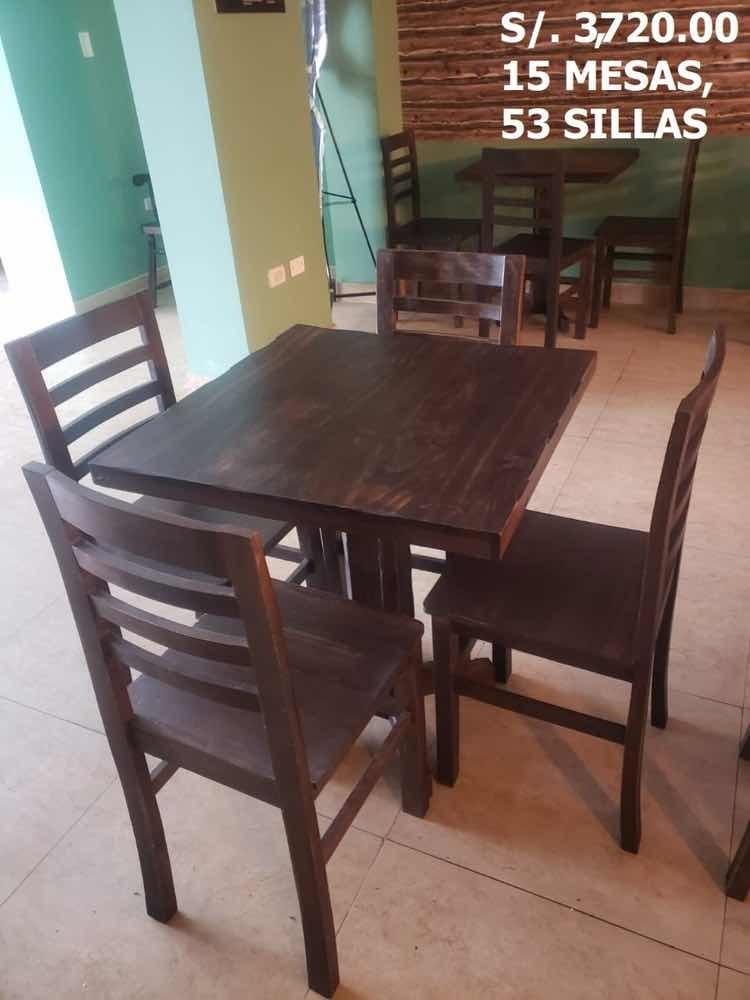 venta de muebles para restaurante