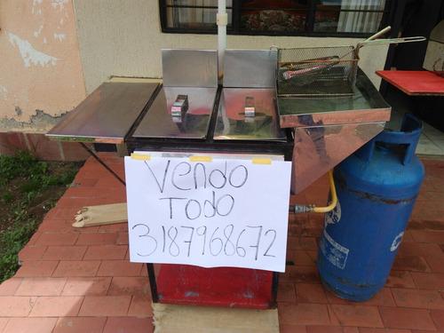 venta de negocio de comidas rapidas