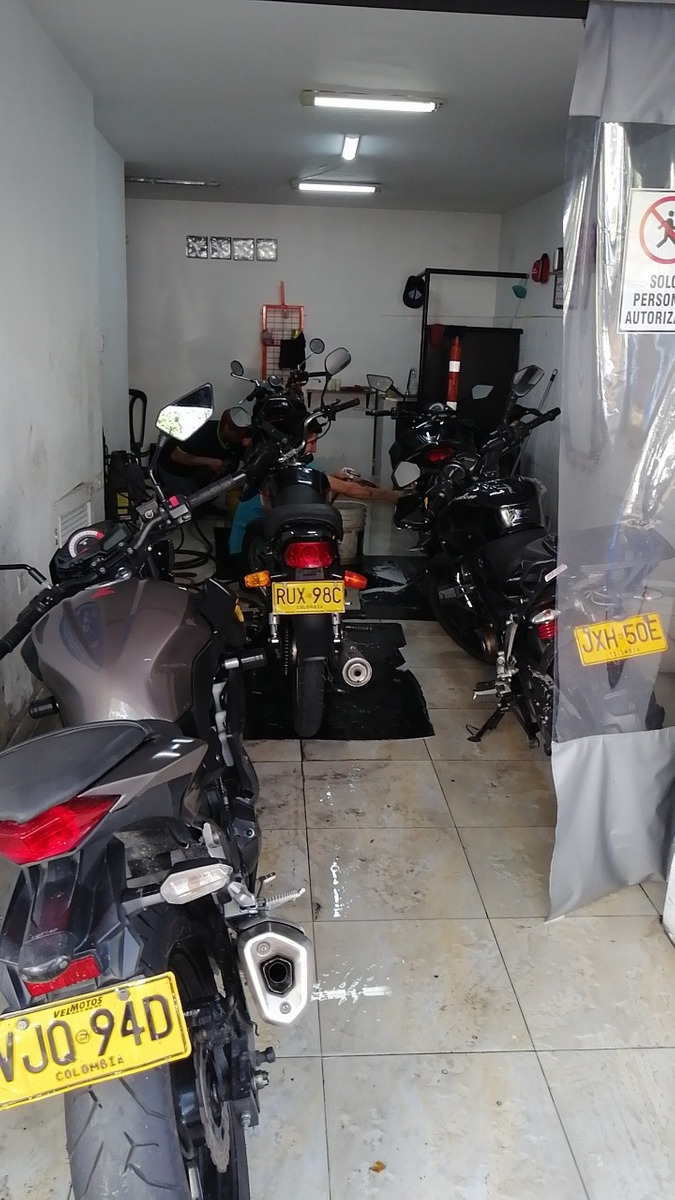 venta de negocio spa de motos