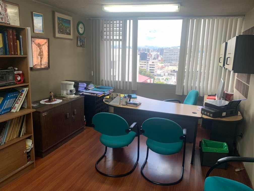 venta de oficina  6to piso (amoblada)