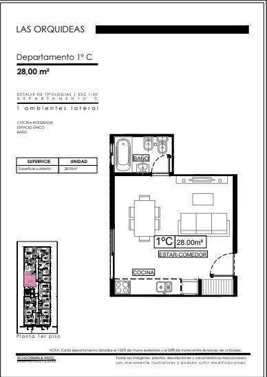 venta de oficina / mono ambiente - ituzaingo centro