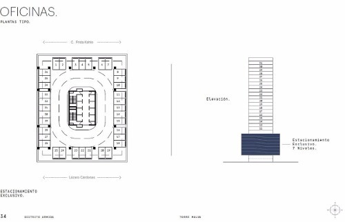 venta de oficinas - exclusiva torre- valle, san pedro, nl