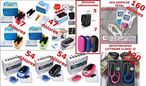 venta de oximetro, eco doppler,estetoscopio