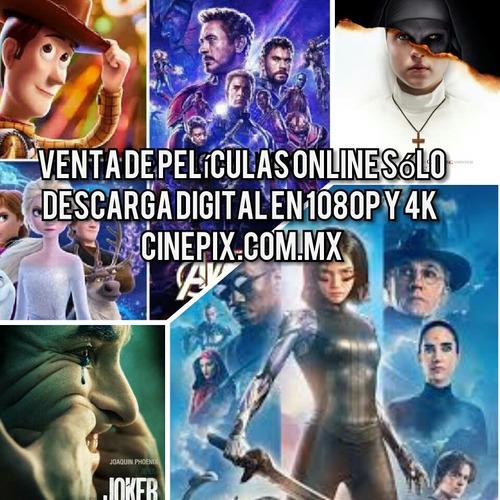 venta de películas online sólo descarga digital en 1080p, 4k