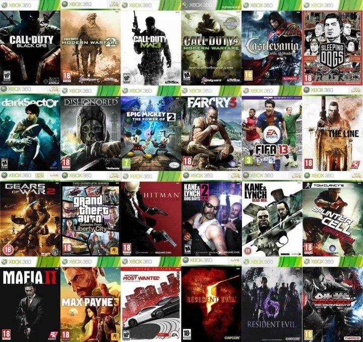 Venta De Pendrive Con Juegos Xbox 360 Rgh U S 18 00 En Mercado Libre