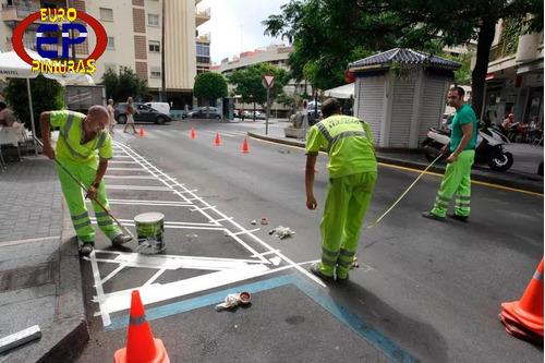 venta de pintura de tráfico, lineas bta rompevelocidades.
