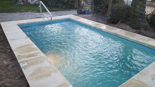 venta de piscinas de fibra de vidrio 24 cuotas sin recargo.