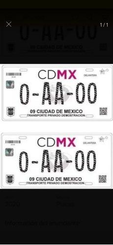 venta de placas taxi ciudad de mexico 45000